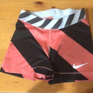 Nike Pro pink x black Spandex